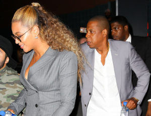 Jay Z To The Rescue Pushing A Beyonce Fan Who Got To Close For A Selfie